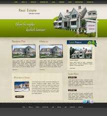 real estate website design and development