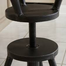 Industrial Metal Bar Stool Austin Industrial Metal Bar Stool Vintage Style Industrial Metal