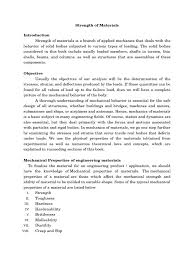 strength of materials lab manual deformation engineering