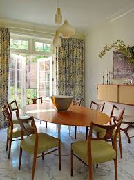 Retro Dining Table Houzz - Retro dining room