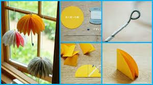 How To Make Paper Umbrellas - how to make a paper umbrella craft ideas