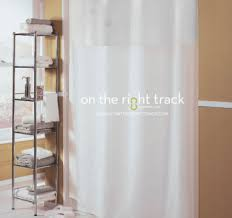 Hookless Shower Curtain On The Right Track Hookless皰 Shower Curtains
