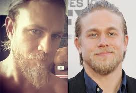 getting a jax teller hairstyle charlie hunnam doppelganger pictures popsugar celebrity