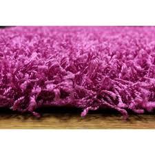 Pink Runner Rug Shaggy Pink Runner Rug