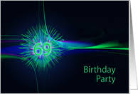 69th birthday card 69th birthday invitations from greeting card universe