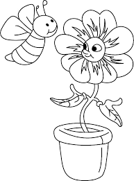 honey bee coloring pages kids coloring pages