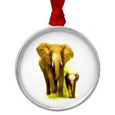 elephant drawing christmas tree decorations u0026 ornaments zazzle co uk