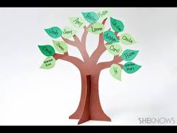 how to make a family tree diy recycled craft recycled arts