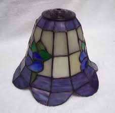 ceiling fan light globes add decor and lighting to your room using stained glass ceiling fan