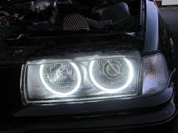 halo rings car images 4x ccfl angel eye eyes halo rings light lamp bulbs kit for bmw e36 JPG