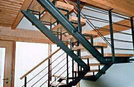 stahl holz treppe innenausbau zimmerei innenausbau martin