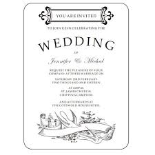 Black And White Invitation Card Compare Prices On Funny Invitation Cards Online Shopping Buy Low
