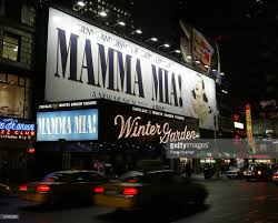 mamma mia at the winter garden in new york photos and images