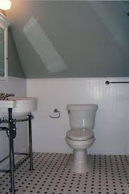 Wainscoting Over Tile Octagon Floor Tiles Bathroom Ideas