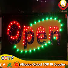 new design product animated led lights boards sign display led