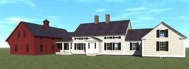 vintage farmhouse plans early american reproduction house plans