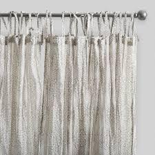 gray starburst crinkle cotton voile curtains set of 2 world market