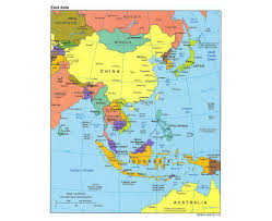 Map Of South Asia by Map Of South With Of East Asia Roundtripticket Me