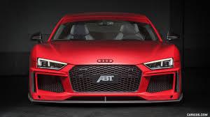 Audi R8 Front - 2017 abt audi r8 v10 plus coupe front hd wallpaper 5
