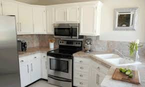 paint kitchen cabinets white diy professional cabinet painting seattle sound finish
