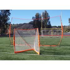 net bow barrier portable lacrosse backstop wall with roller bag