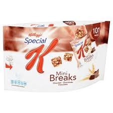 calories in kelloggs special k mini breaks chocolade calorienow
