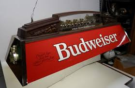 budweiser pool table light with horses vintage budweiser clydesdale pool table light table designs