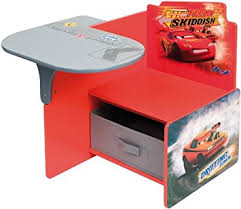 bureau cars disney cars kinder banc enfants bureau bois disney deskchair meubles
