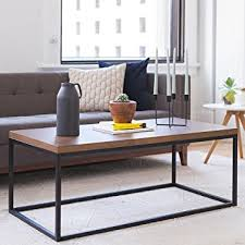 Solid Wood Living Room Furniture Solid Wood Coffee Table Modern Industrial Space
