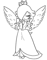 baby rosalina free coloring pages on art coloring pages