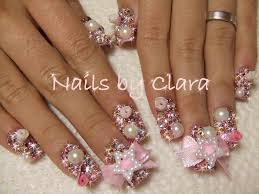 3d nail designs nail art designs pinky and star crazy nail