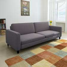dark gray 3 seater sofa vidaxl com