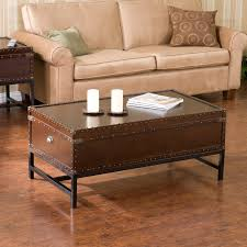 modern southern table southern enterprises pyramid trunk coffee table espresso hayneedle