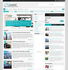 templates for blogger for software this news and magazine blogger template has 3 layout options a