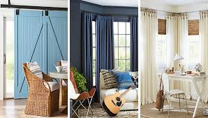 Curtain For Window Ideas Stylish Ideas For Covering Tricky Windows