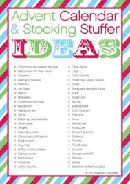 Stocking Stuffers Ideas Stocking Stuffer Ideas By Organizing Homelife Holidays