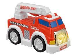 tonka fire truck my first tonka flashlight force red fire truck toys