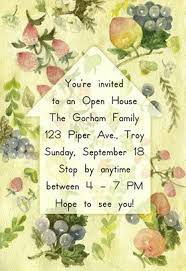 housewarming open house free housewarming invitation template