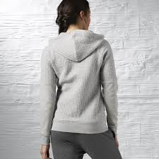 reebok sale women clothing reebok elements quilted full zip