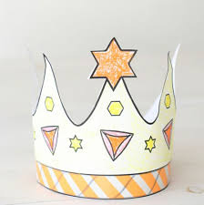 printable purim crown coloring u0026 crafts jewish kids