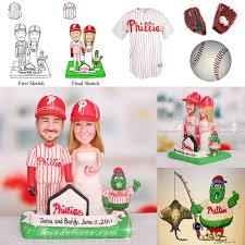 baseball cake topper philadelphia phillies baseball wedding cake topper with philly s