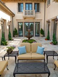 Italian Backyard Design by Oatman Architects Residential Old World Mediterranean Italian