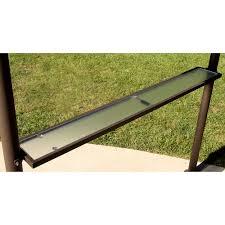 Roman Gazebo Table by Double Roof Grill Shelter Gazebo 8 U0027 X 5 U0027 Walmart Com