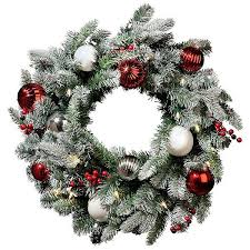 Decorating Pine Christmas Wreaths by Best 25 Pre Lit Christmas Wreaths Ideas On Pinterest Unique