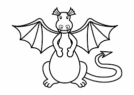 dragons coloring pages pages for kids printable free little dinosaur stegosaurus cartoon