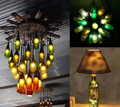 lights made out of wine bottles 27 ideas of how to recycle wine bottles into pieces of art
