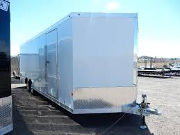 enclosed trailer exterior lights new 2017 haulmark alx aluminum 8 5x24 2 cargo trailer light weight