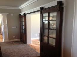 barn doors for homes interior make interior barn door rail the