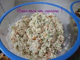 cuisine de perle salade de perles de la mer suis moi en cuisine