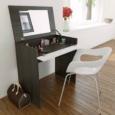 Black And Mirrored Bedroom Furniture Bedroom Furniture Modern Wooden Dressing Table Folding Mirror